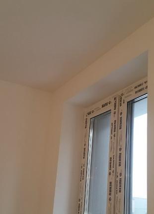 Шпатлевка стен под обои/покраску