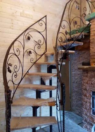 Изготовление металлических лестниц в Николаеве.