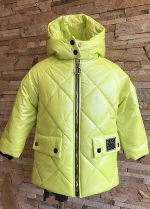 Хамелеон куртка деми демисезонная детская для девочки