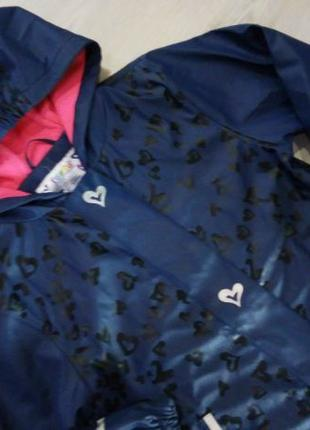 Куртка прорезиненная на дождливую холодную погоду Lupilu 122/1...