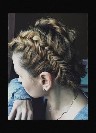 Плетение кос/ укладка волос