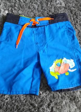 Купальные шорты (для купания) на 4-5 лет