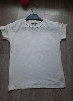 Белая футболка на 3-4 года