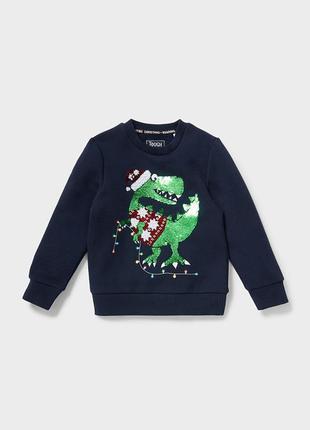 Теплый реглан свитер (116)