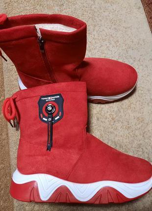 Теплые ботинки (25,0 см)