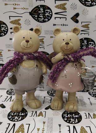 Статуетка ведмедики пара