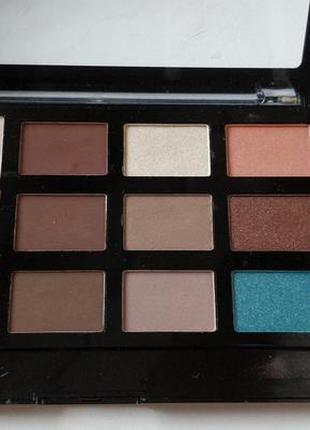 Палетка для макияжа malva cosmetics pro eye shadow contour hig...