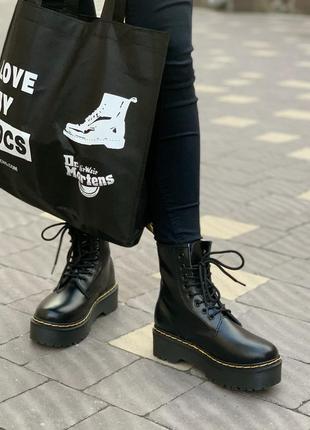 🤗 женские демисезонные ботинки мартинс термо зима