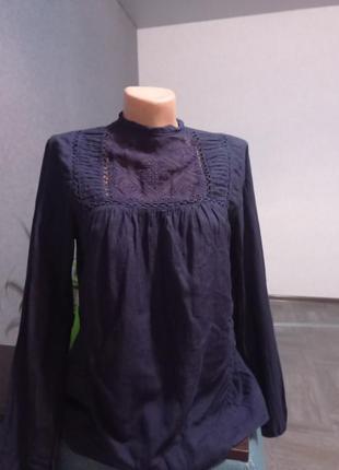 Шикарная натуральная блузка, блузка женская