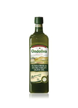 Оливковое масло первого холодного отжима 1 л микс.