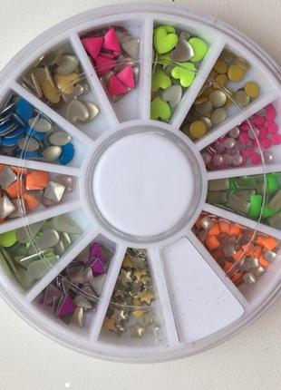 Камінчики, прикраси для манікюру. nail art для ногтей в карусе...