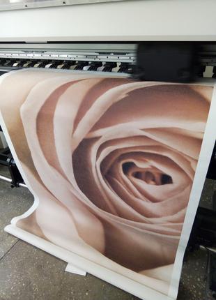 Широкоформатная печать в фотографическом качестве. Фотообои. Б...