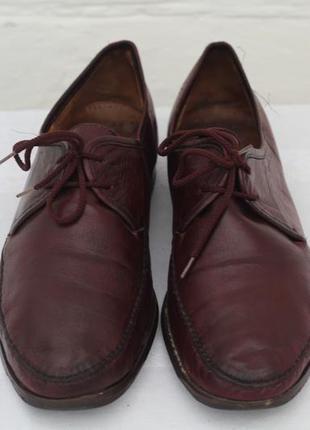 Кожаные  классические туфли германия