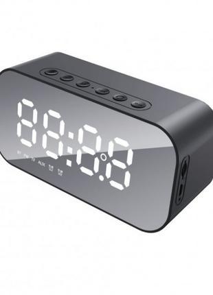 Портативная беспроводная акустика HAVIT HV-M3 часы будильник