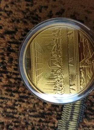 Сувенирная монета Иисус Христос