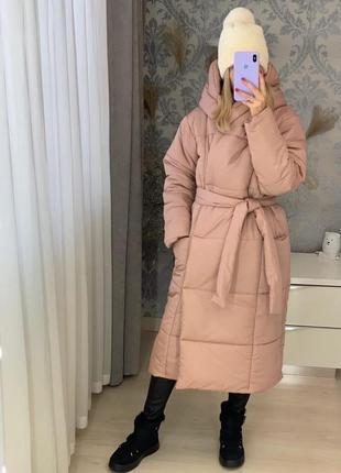 Куртка одеяло пудра