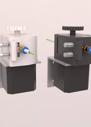 Екструдер для 3d принтера редукторний/ Экструдер для 3д принтера