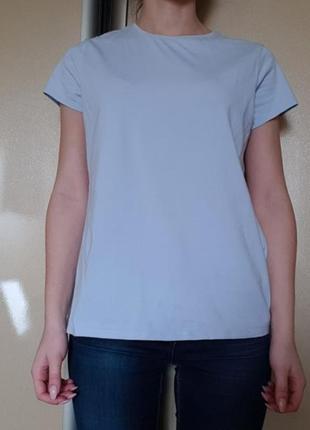 Голубая футболка marks & sencer