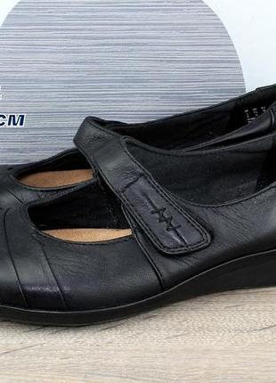 Туфли кожаные clarks.