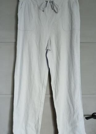 Льняные брюки. брюки. палаццо. колоны . свободные брюки