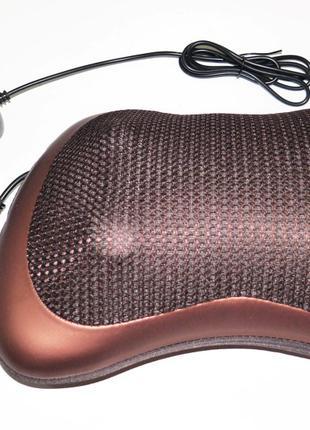 Massage Pillow массажная подушка с инфракрасным подогревом