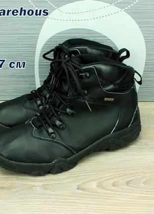 Ботинки кожаные, с мембранной waterproof.