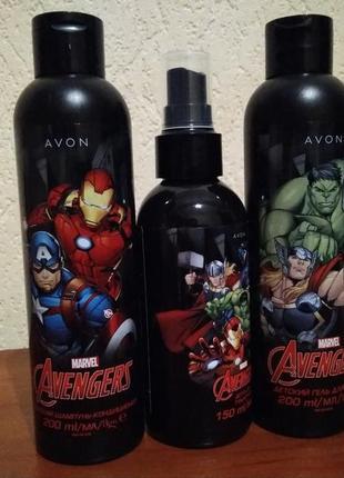 Набор avon marvel avengers для мальчиков
