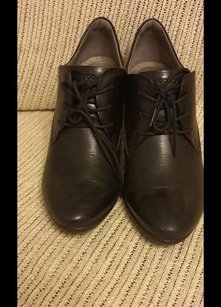 Ecco, туфли, кожа,  размер 41.