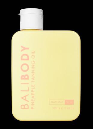 Bali body масло для загара