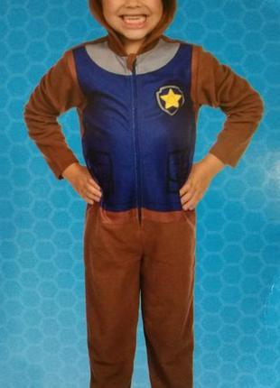 Пижама слип кигуруми щенячий патруль nickelodeon тонкий флис 9...
