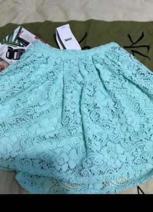 Кружевная пышная юбка срочно