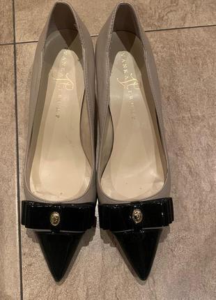 Стильные туфли лодочки с бантом ivanka trump