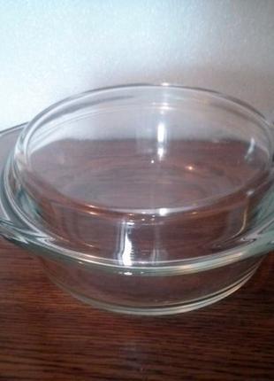 Кастрюля стеклянная 0.5 л