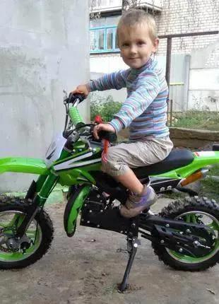Мини-мотоцикл кроссовый для детей новый! Акция!