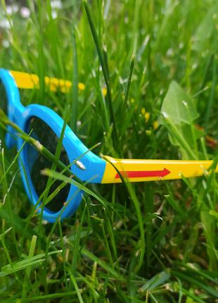 Детские солнцезащитные очки с поляризацией, мягкие дужки