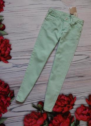 Стильные, мятные классные штаны,джинсы, брюки от фирмы zara на...
