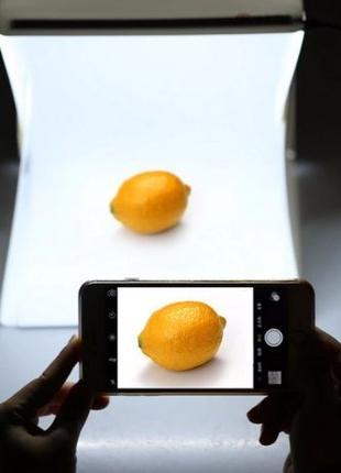 Лайткуб для предметной фотосъемки / Лайтбокс / Софтбокс / Фото...