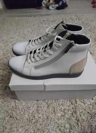 Обувь кеды ботинки высокие оригинал Calvin Klein кельвин кляйн...
