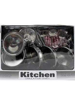 Посуда металлическая посудка детская набор