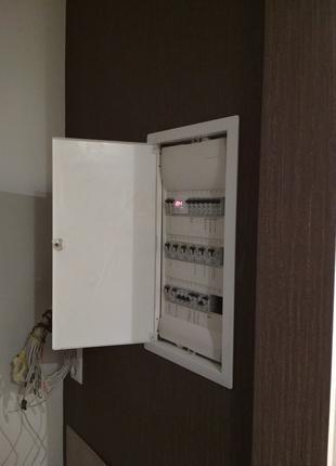 Электромонтаж 1 комн квартиры