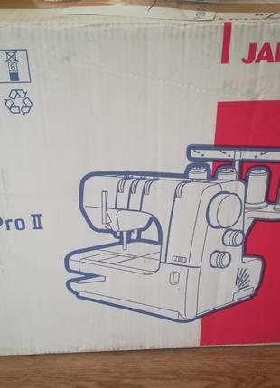Распошивальная швейная машина Janome Cover Pro 2