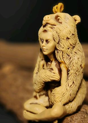 Свеча тотем-медведица