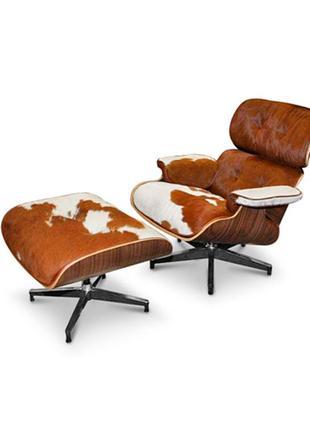 Дизайнерское кресло Релакс с оттоманкой