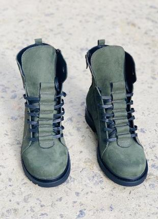 Хит 2020♥️ женские кожаные ботинки {зима}
