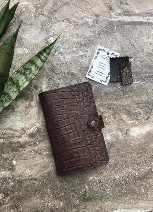Кошелек портмоне из натуральной кожи