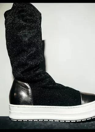 Легкие осенние женские кеды с носком sweet shoes
