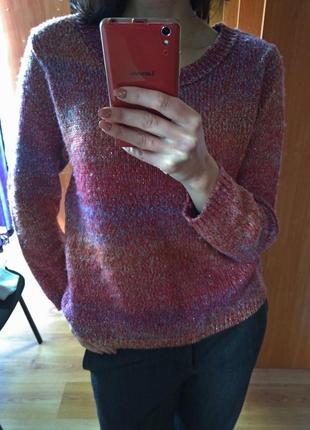 Яркий теплый свитер atmosphere, р. 14