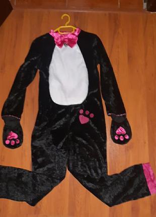 Карнавальный костюм кошечка зайка пингвин