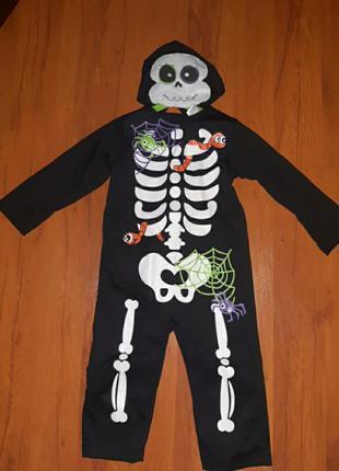 Карнавальный костюм скелетон