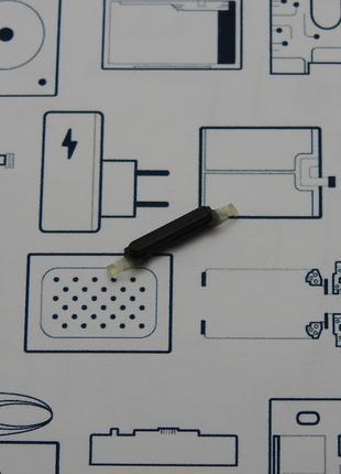Кнопка включения ZTE V8 Mini черная Сервисный оригинал с разборки